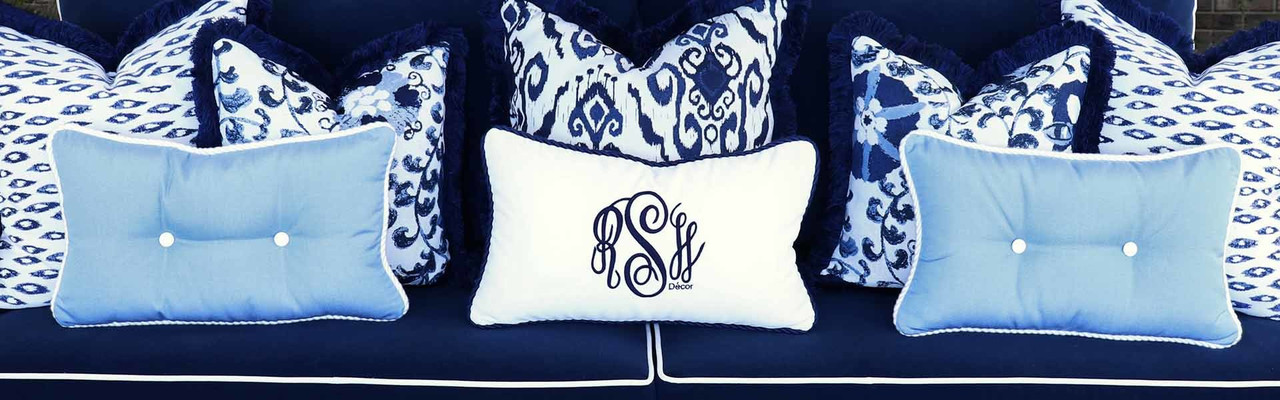 Tufted Wicker Cushions