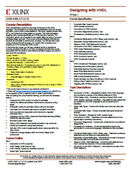 Please see https://morgan-aps.com/trainingpdf/LANG-ADVVHDL.pdf for a complete course description.