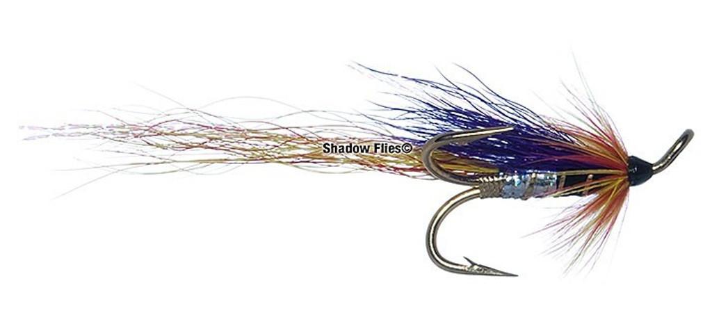 Ally's Cascade Shrimp Purple - Gold Treble