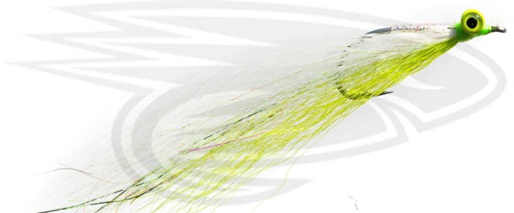 Clouser-Chartreuse & White