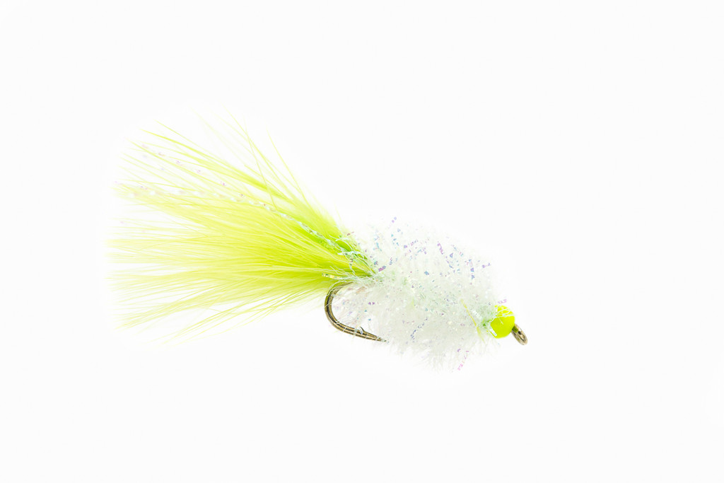 Chartreuse/White Fritz Bugger