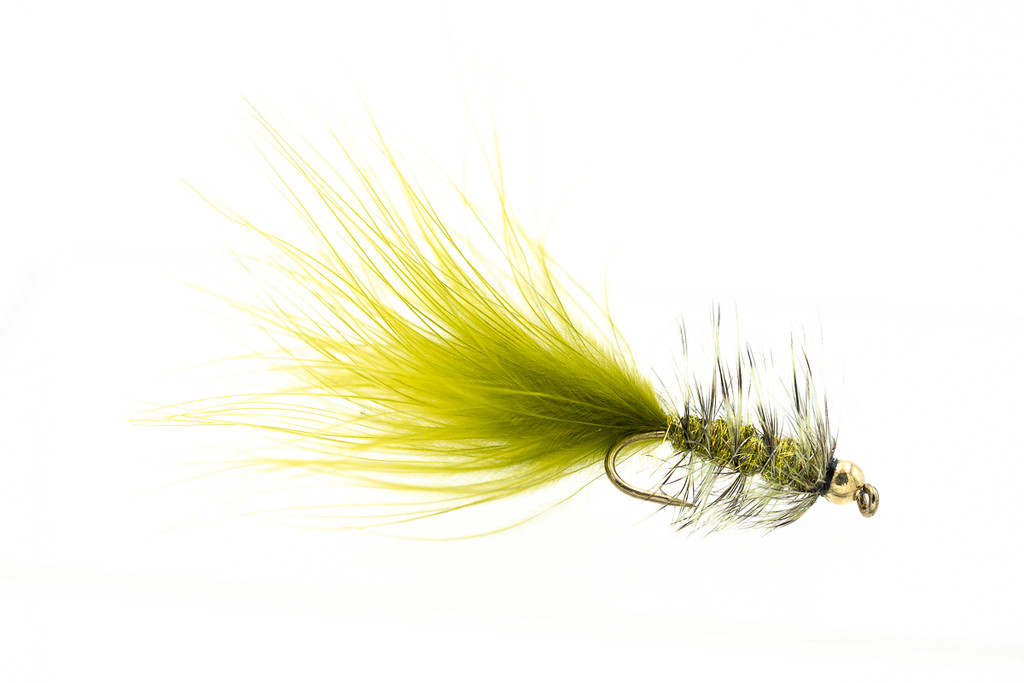 Grizzly/Olive Woolly Bugger