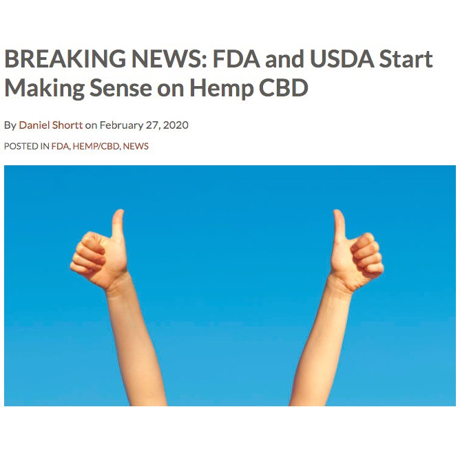 Good News for the Hemp Industry!