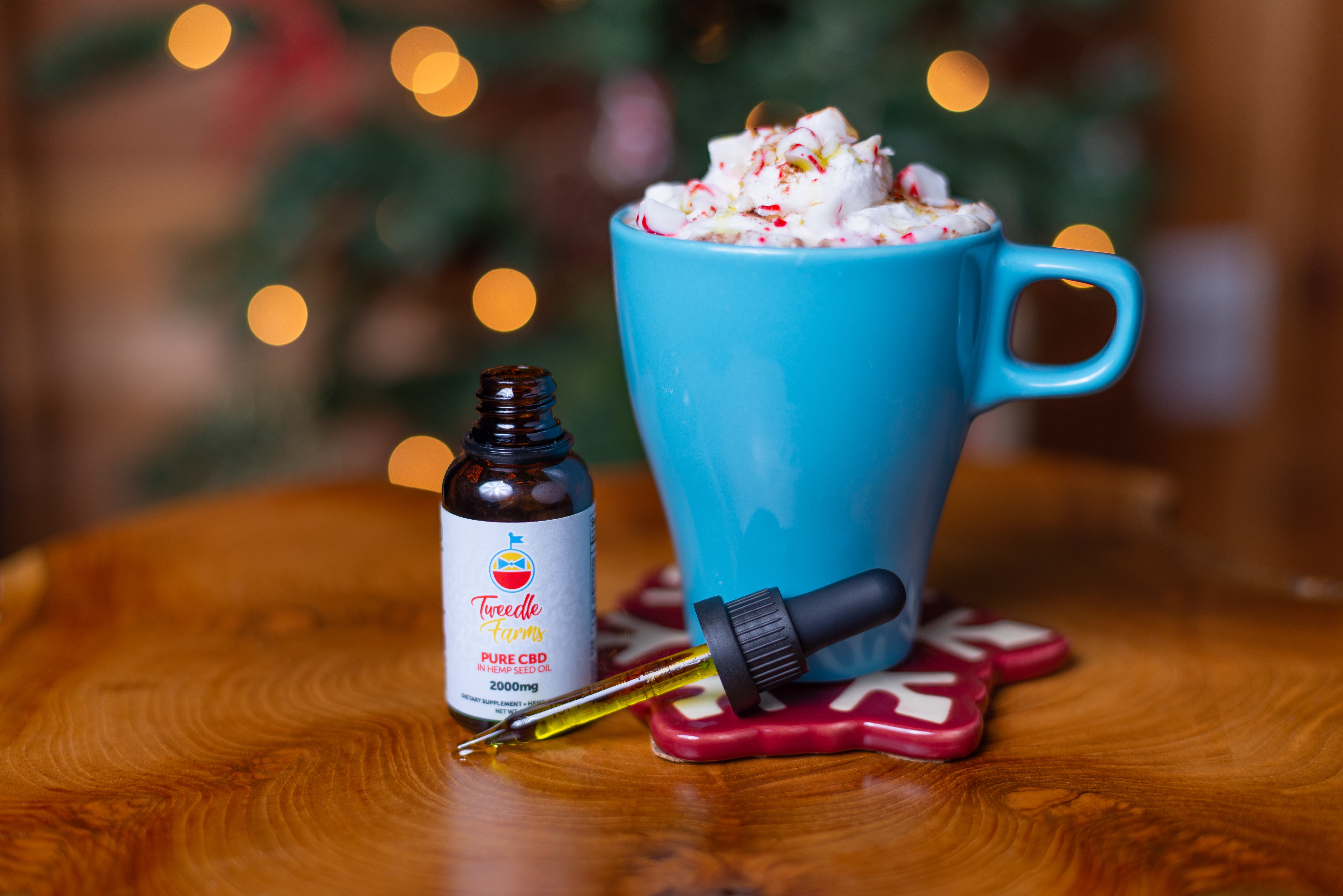 Cooking With Hemp: CBD-Rich Peppermint Hot Cocoa