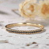 black diamond wedding rings yellow gold