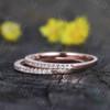 half eternity diamond Wedding Band 06