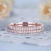 half eternity diamond Wedding Band 05
