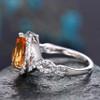 6x9mm citrine birthstone promise ring for her 04