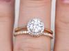 Forever One Moissanite Ring-BBBGEM Moissanite Wedding Ring Sets