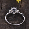 Moonstone And Pearl Engagement Ring White Gold 03