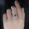 Vintage Alexandrite Engagement Ring-BBBGEM Alexandrite Ring