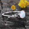Classic Opal Engagement Ring 02