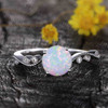 Classic Opal Engagement Ring 01