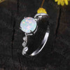 Classic Opal Engagement Ring 0