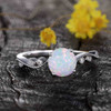 Classic Opal Engagement Ring 04