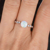 Classic Opal Engagement Ring 05