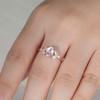 Rainbow Moonstone Ring Gold-BBBGEM Moonstone Ring