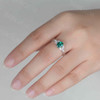 emerald engagement ring 2