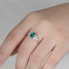 emerald engagement ring 3