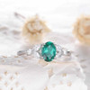 emerald engagement ring 4