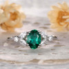 emerald engagement ring 5