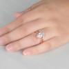 Infinity Moonstone Engagement Ring 02