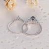 Alexandrite Engagement Ring Set 03