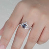 Alexandrite Engagement Ring Set 01