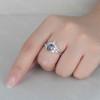 Alexandrite Engagement Ring Set 02