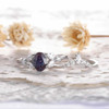Alexandrite Engagement Ring Set 06