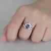 Alexandrite Engagement Ring Set 07