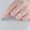 Oval Cut Moonstone Engagement Ring 01