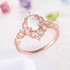 Opal Engagement Ring 6
