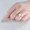 Opal Engagement Ring 8
