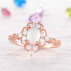 Opal Engagement Ring 1
