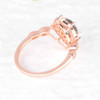 Vintage Black Rutilated Quartz Engagement Ring 04