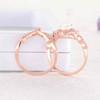 Opal Stackable Ring-BBBGEM Opal Diamond Engagement Ring