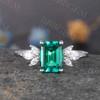 Emerald Cut Emerald Ring 0