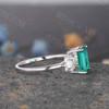 Emerald Cut Emerald Ring 04