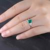 Emerald Cut Emerald Ring 01
