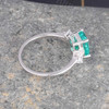 Emerald Cut Emerald Ring 05