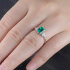 Emerald Cut Emerald Ring 02