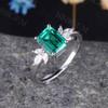 Emerald Cut Emerald Ring 07