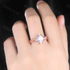 Vintage Moonstone Engagement Ring Oval Cut