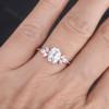 Moissanite Engagement Ring vintage