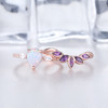 pear cut opal ring