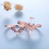 opal wedding ring set