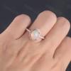 Opal Wedding Rings-BBBGEM Opal Engagement Ring