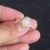 Opal Diamond-BBBGEM Opal Engagement Ring