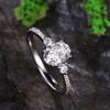 Unique Moissanite Rings-BBBGEM Moissaite Ring